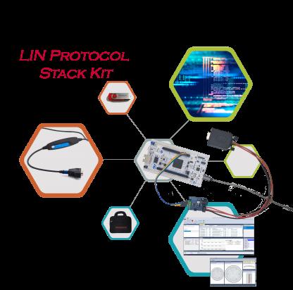 LIN protocol stack kit